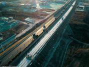 В Китае достраивают дорогу из солнечных панелей