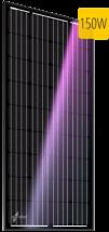 Монокристаллический солнечный модуль Au-FSM-150M