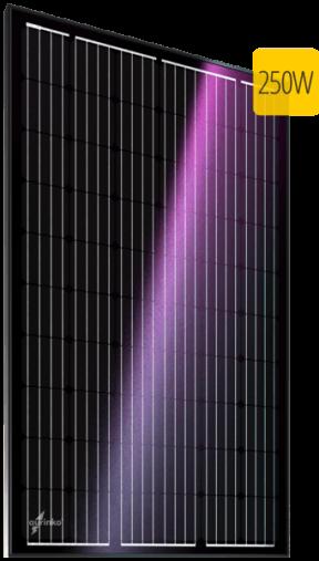 Монокристаллический солнечный модуль Au-FSM-250M