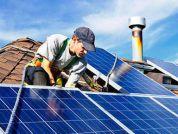 Установка солнечных батарей (панелей)