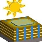 Трехмерные структуры  в виде наноблоков повышают эффективность солнечных элементов
