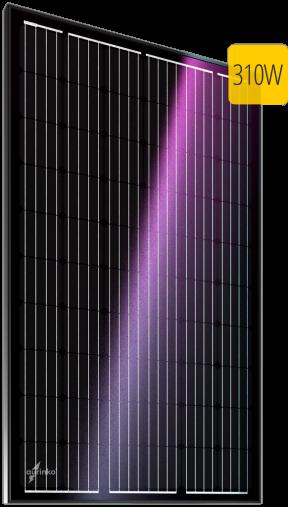 Монокристаллический солнечный модуль Au-310-60M