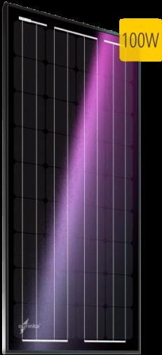 Монокристаллический солнечный модуль Au-FSM-100M