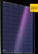 Поликристаллический солнечный модуль Au-FSM-200P