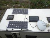 Солнечные панели - незаменимый атрибут дома на колёсах